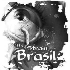 Logo The Strain Brasil