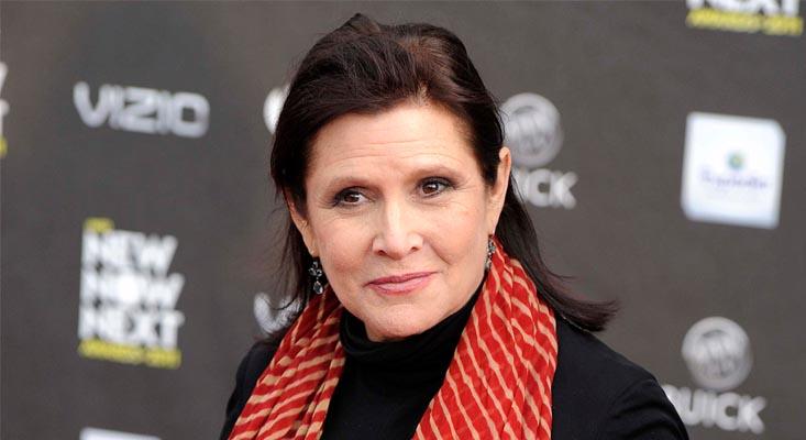 Carrie Fisher, eterna Princesa Leia de Star Wars