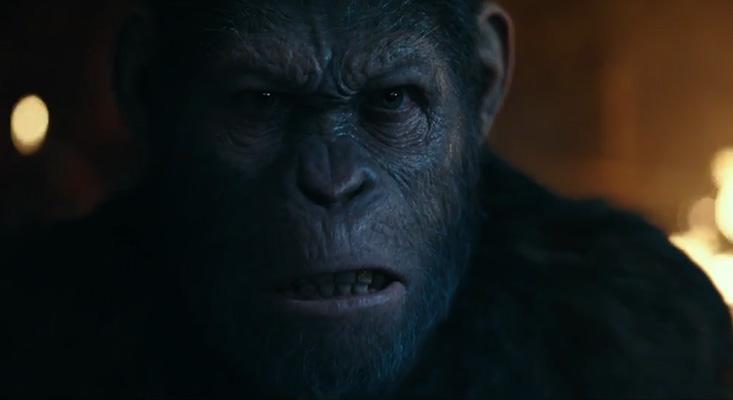 Preparem-se para a guerra!!! Planeta dos Macacos acaba de ganhar um novo trailer – Assista!
