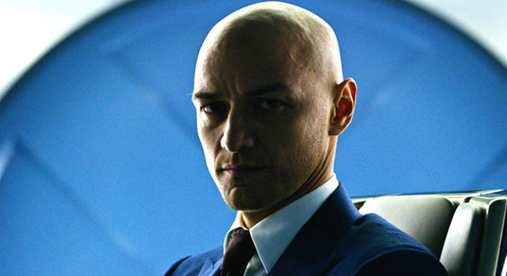 James McAvoy (Charles Xavier)