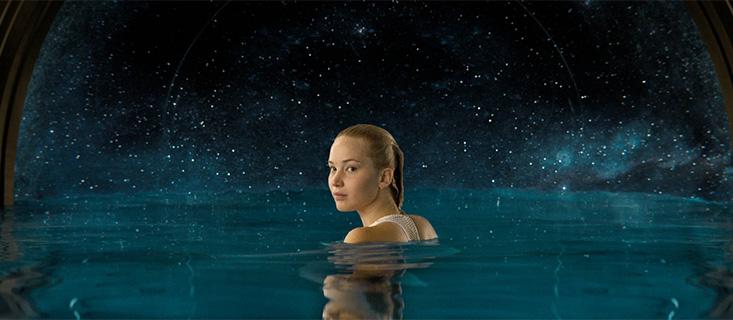 Jennifer Lawrence em Passageiros (Passengers)
