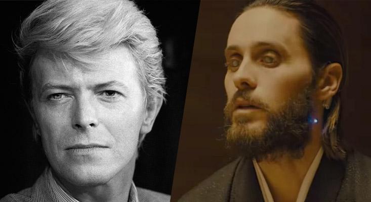 David Bowie e Jared Leto