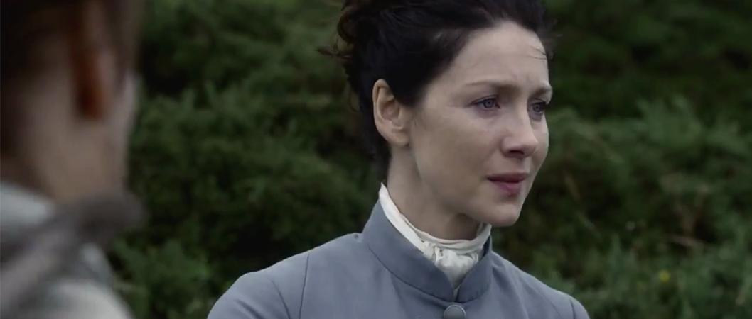 Claire (Caitriona Balfe) na 3ª temporada de Outlander