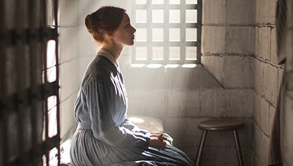 Sarah Gadon como Grace Marks em Alias Grace da Netflix