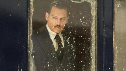 Johnny Depp no filme Assassinato no Expresso do Oriente