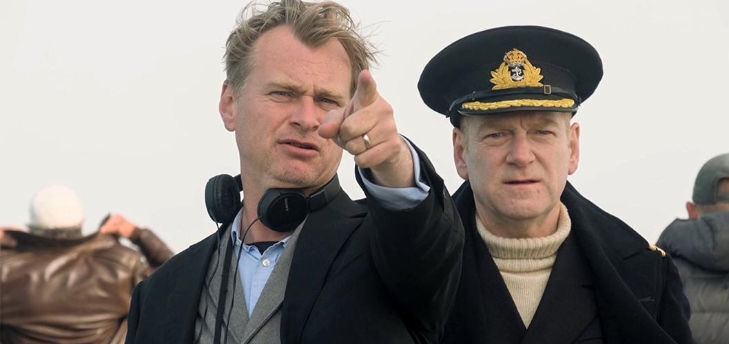 Christopher Nolan nos bastidores de Dunkirk