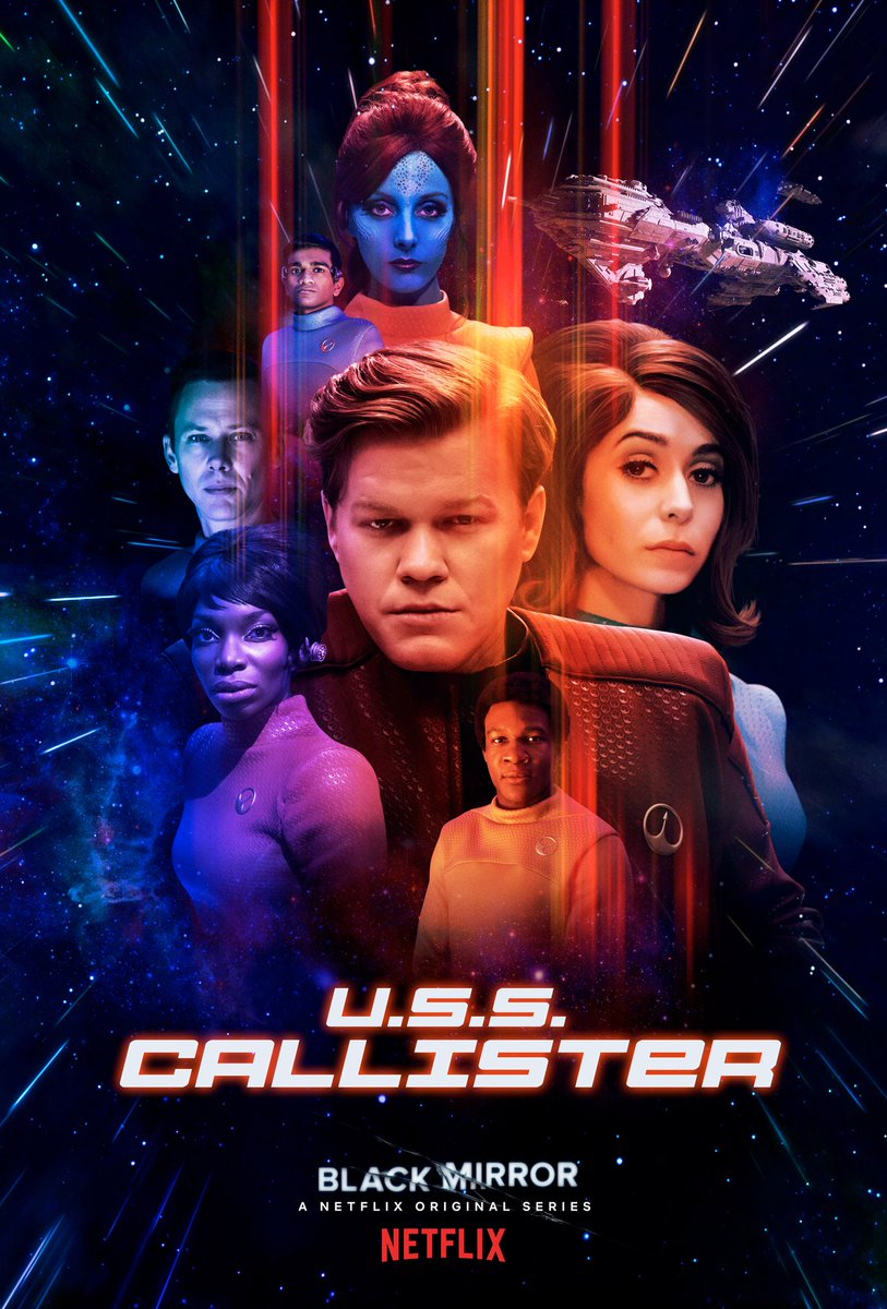 Pôster do episódio USS Callister da 4ª temporada de Black Mirror