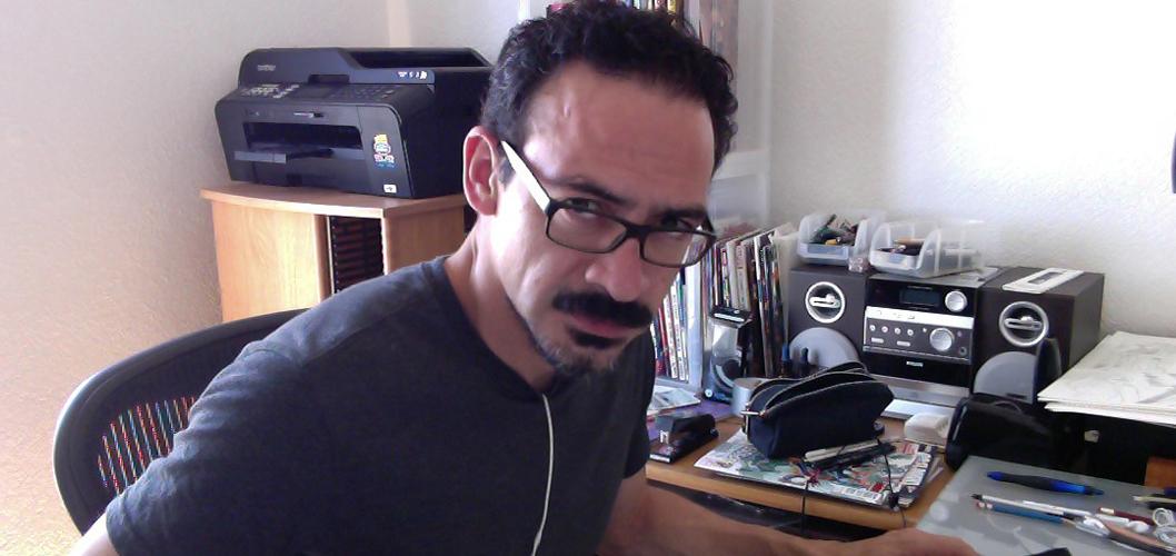 Quadrinista Humberto Ramos