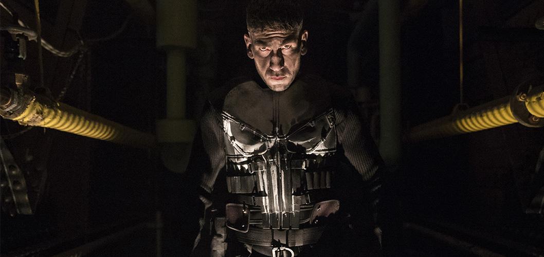 Jon Bernthal como Frank Castle/Justiceiro na série Justiceiro da Netflix