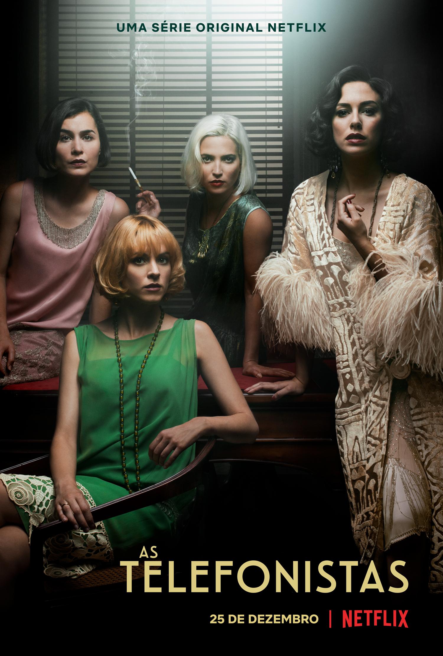 Arte oficial da 2ª temporada de As Telefonistas (Las Chicas Del Cable) na Netflix