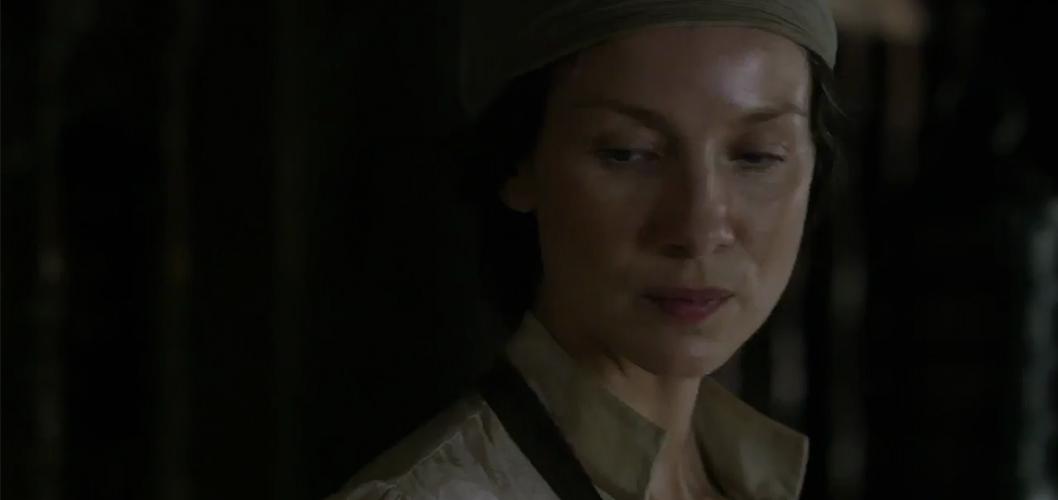 Caitriona Balfe na 3ª temporada de Outlander