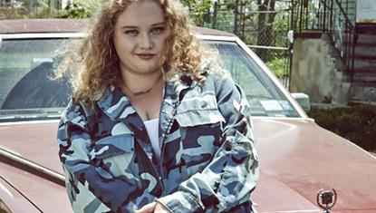 Danielle Macdonald no filme Patti Cake$