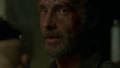 Andrew Lincoln como Rick em The Walking Dead