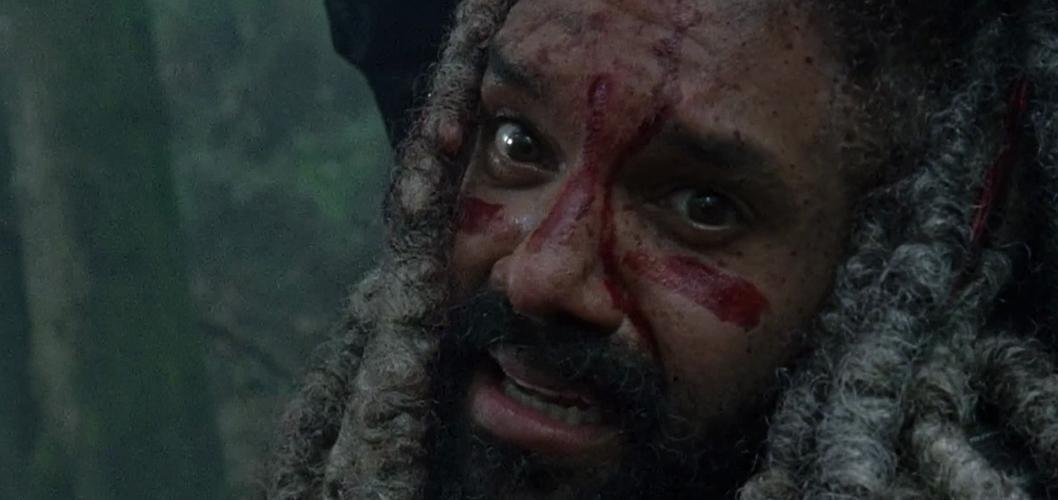 Khary Payton como Ezekiel na 8ª temporada de The Walking Dead