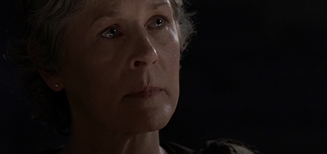 Melissa McBride como Carol em The Walking Dead