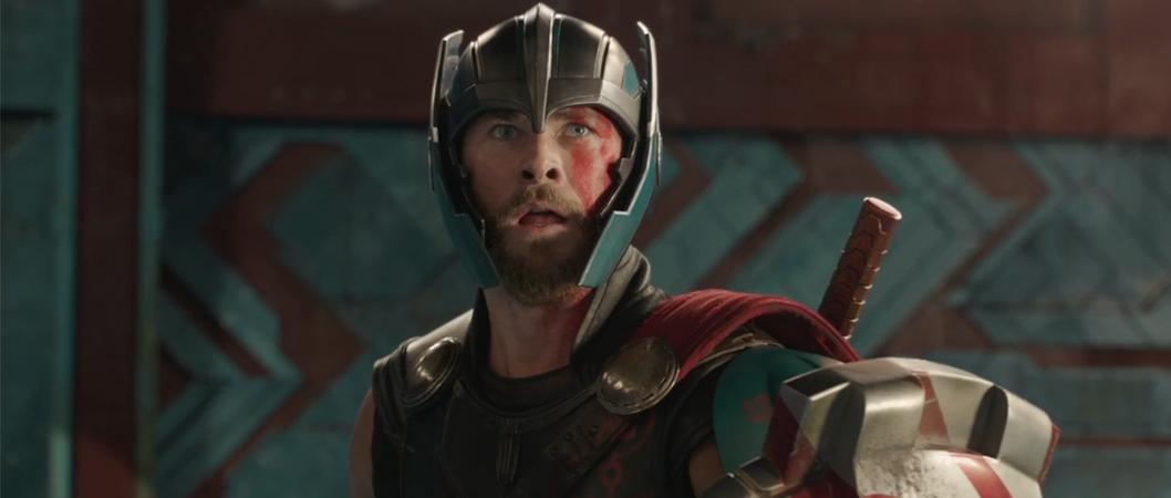 Chris Hemsworth em Thor: Ragnarok