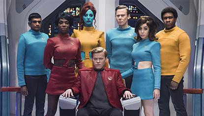 Elenco do episódio USS Callister - 4ª temporada de Black Mirror
