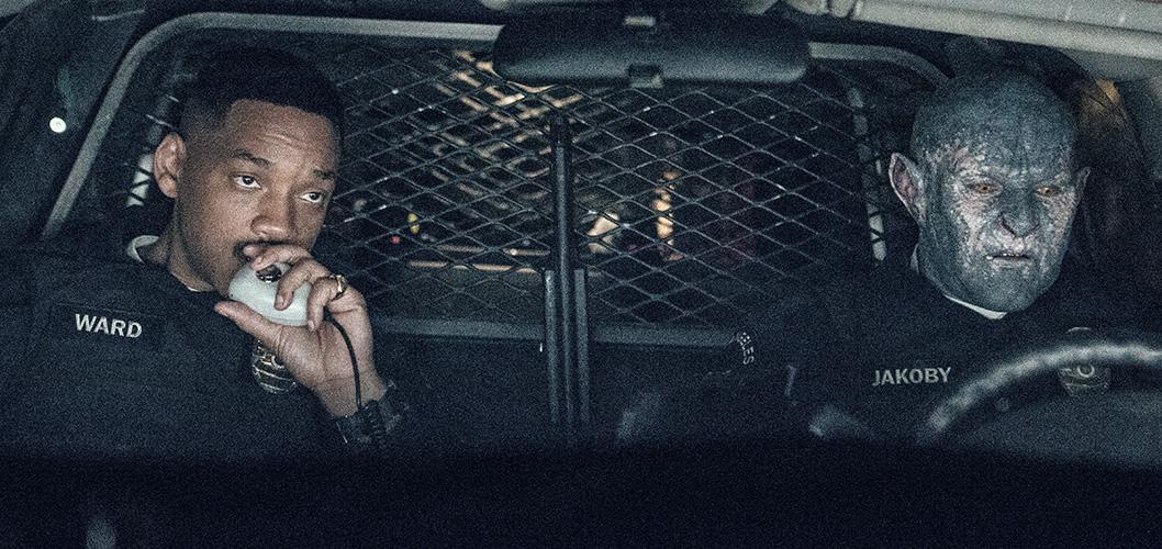 Will Smith e Joel Edgerton em Bright, filme da Netflix