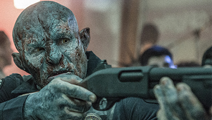Joel Edgerton em Bright, filme da Netflix