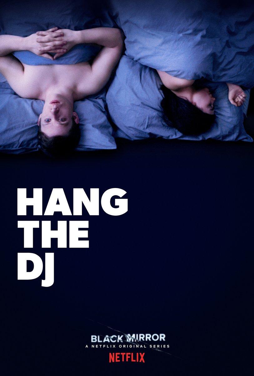 Pôster do episódio Hand the DJ da 4ª temporada de Black Mirror