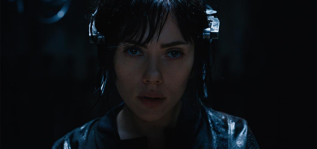 Scarlett Johanson como Major no filme A Vigilante do Amanhã - Ghost in the Shell