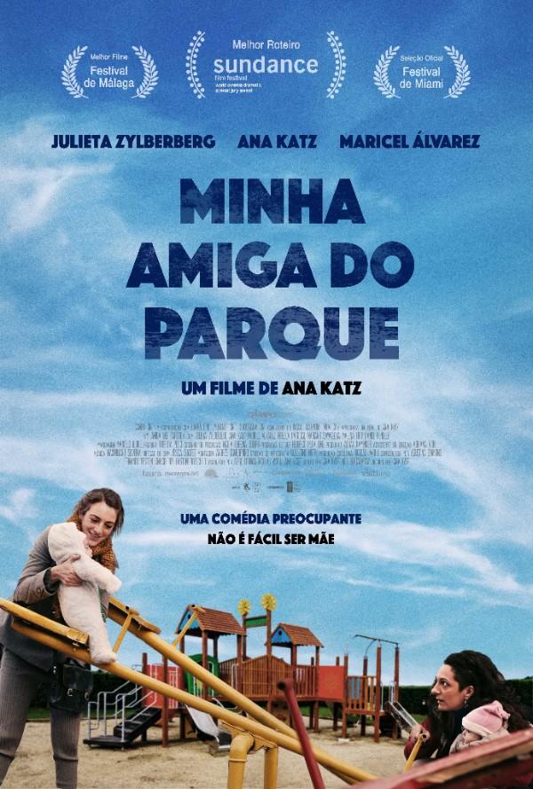 Cartaz nacional do filme Minha Amiga do Parque