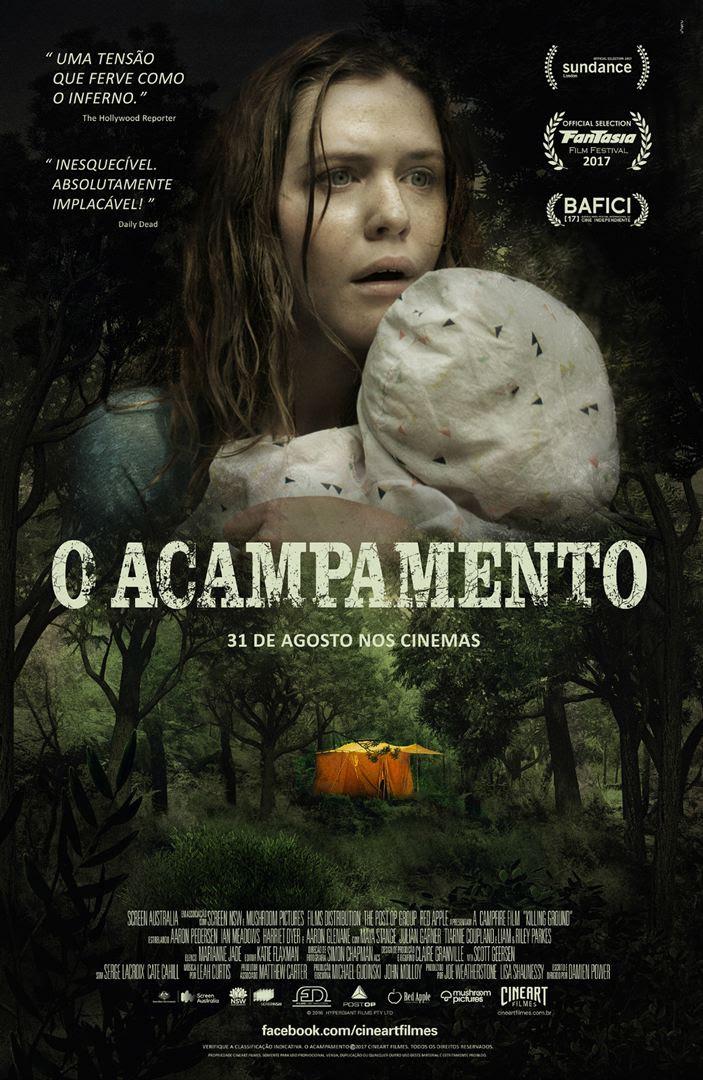 Cartaz oficial do filme O Acampamento