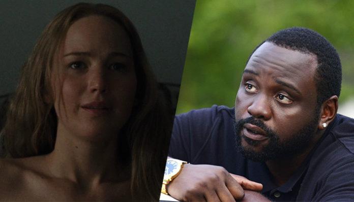 Jennifer Lawrence (no filme Mãe!) e Bryan Tyree Henry (na série Atlanta) / via IMDb