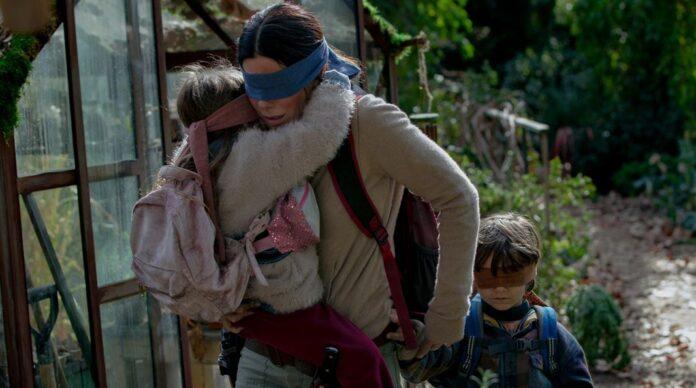 Sandra Bullock em Caixa de Pássaros