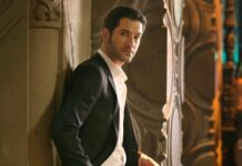 Tom Ellis interpreta o personagem Lucifer.