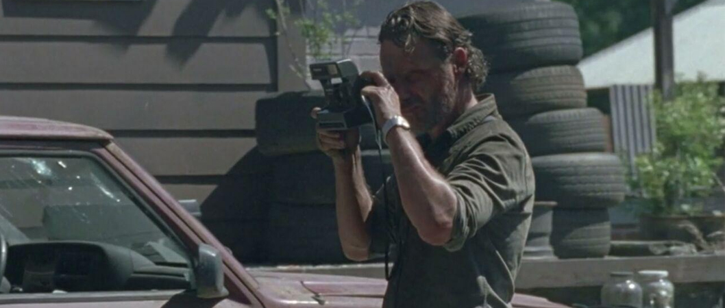 Andrew Lincoln como Rick em The Walking Dead